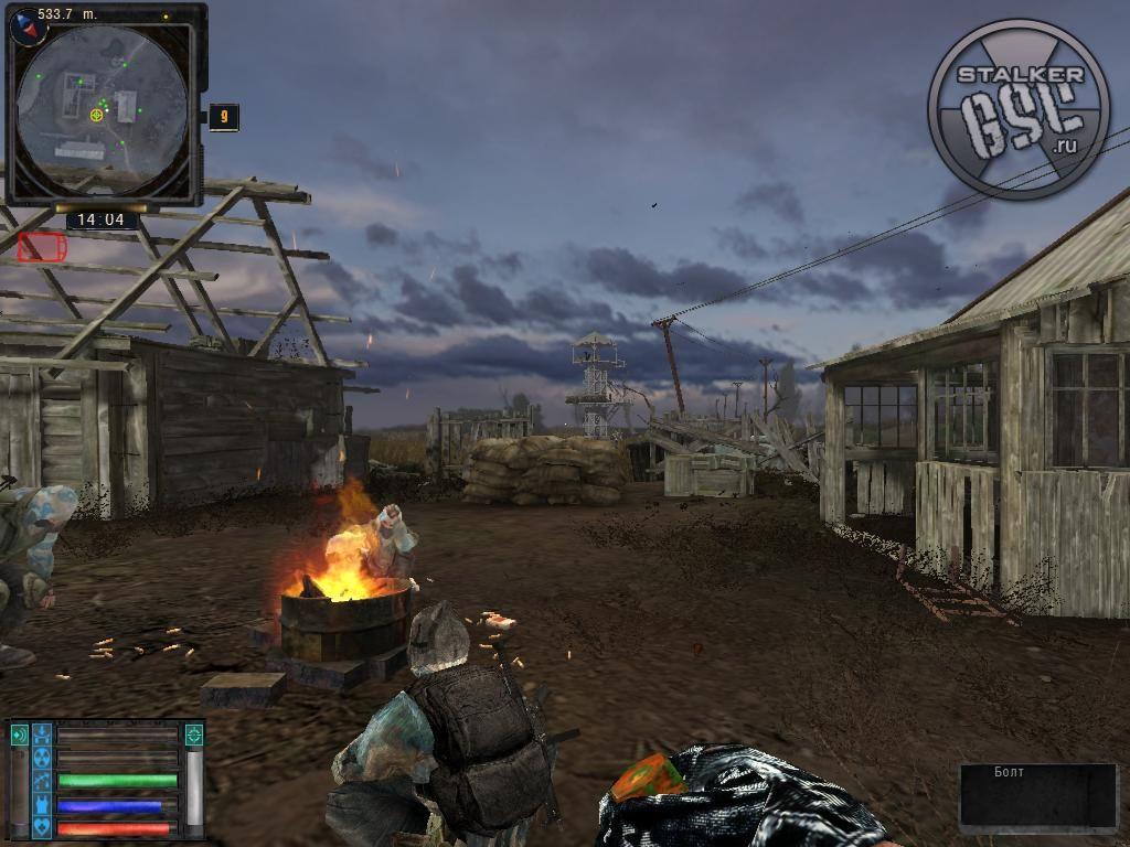 Патч подходит для игры S. T. A. Stalker CS 'Clear shot' ver